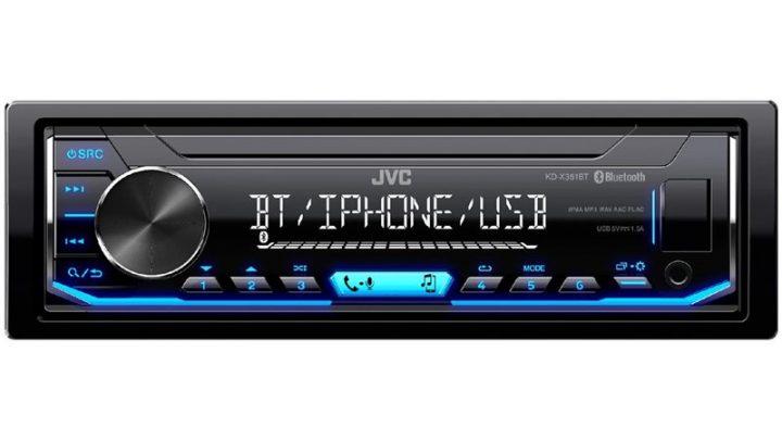 JVC KD-X351BT – wysokiej jakości radio samochodowe z USB