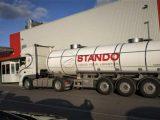Specjalistyczny przewóz cysternami a transport produktów spożywczych