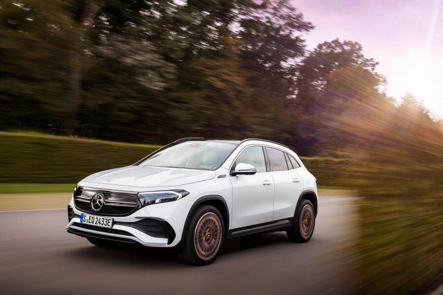Mercedes eqa – nowość w linni samochodów