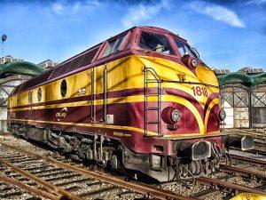 transport intermodalny - pociąg